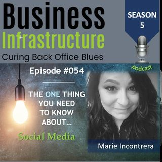 Episosde 54: The One Thing You Need to Know About Social Media   Marie Incontrera