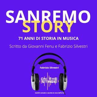 l'uomo con La radio -Sanremo Story 1970