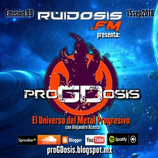 proGDosis 099 - 15sep2018 - Nova Terra
