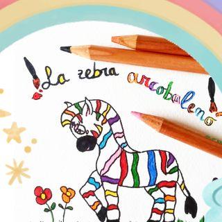 La zebra arcobaleno - Fiabe della buonanotte