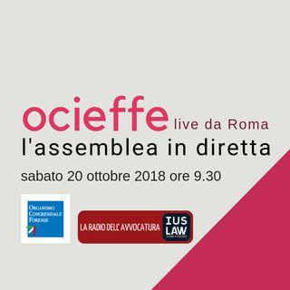 Assemblea OCF 19-20 ottobre 2018 - Sabato 20 ottobre 2018