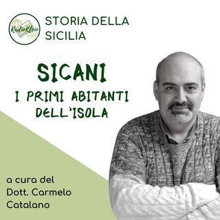 Storia della Sicilia: Sicani - i primi abitanti dell'isola