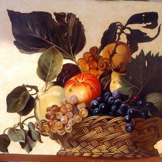 Caravaggio le Allegorie (Canestra di Frutta e Fruttarolo)