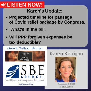 Timeline for stimulus package from Congress; also, will PPP forgiven expenses be tax deductible?