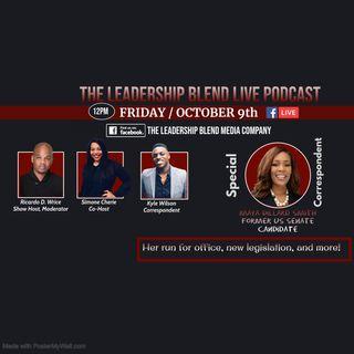 Season Two, Episode Ten Former US Senate candidate Maya Dillard Smith visits the Blend!