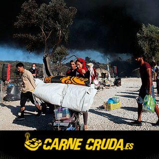 Carne Cruda - Moria, campo de concentración de Europa (MUNDO A DISTANCIA #728)
