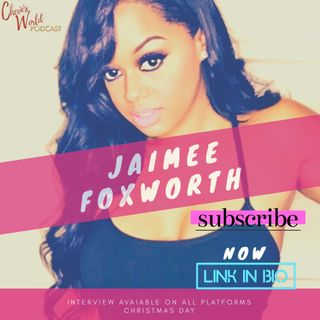 Jaimee Foxworth calls in today on this special Christmas Day edition of Cherie's World Podcast
