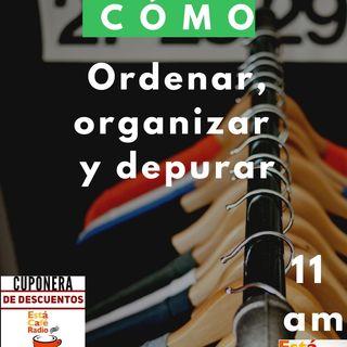 CÓMO organizar, ordenar y depurar