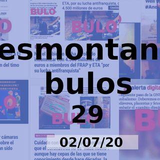 Demontando Bulos 29 (02/07/20)