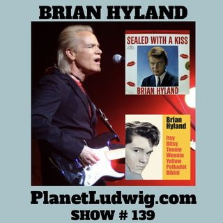 Steve Ludwig's Classic Pop Culture # 139 - BRIAN HYLAND INTERVIEW