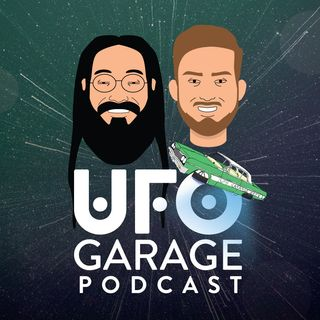 UFO Garage Episode 22 - GUEST: Joanna Aiton-Kerr, Stanton Friedman Archives