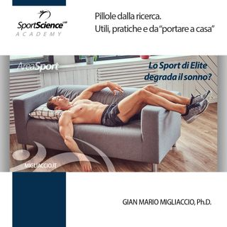 Gli atleti di elite degradano la qualità del sonno?