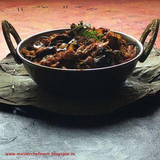 Chettinad Style Kathirikkai Thokku/ Brinjal Fry