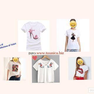 Vuoi sviluppare 1 Mini Collezione di Tshirt in collaborazione col Progetto tuunica?