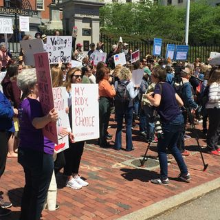 Hundreds Rally For Abortion Rights At State House