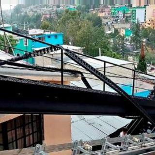 Falla el Funicular en la Alcaldía Álvaro Obregón, por corto circuito de transformador.