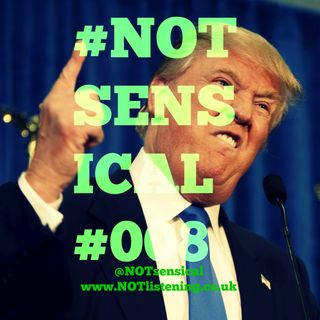 BONUS EPISODE - Talking about Trump lemonade on a LIVE radio phone in #NOTsensical