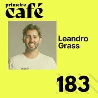 #183: Entrevista com Leandro Grass   Café com Poesia