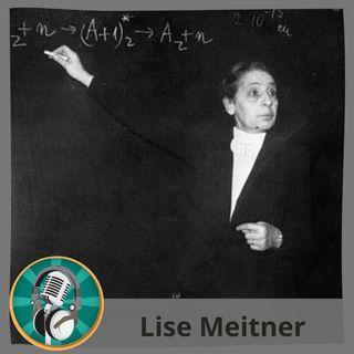 Irene González con Lise Meitner