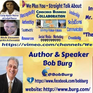 We Plus You interviews Bob Burg