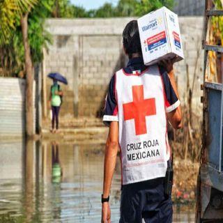 Reciben ayuda en Chiapas, Tabasco y Veracruz