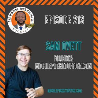 #213 - Sam Ovett, Founder of MobilePocketOffice.com