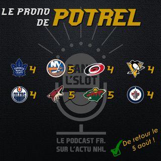 Playoffs NHL 2020 - Les pronos de Potrel (Tour de qualification)