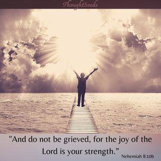 Episode 165: The Joy of the Lord is My Strength