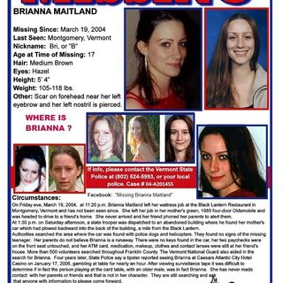 37 - Missing Brianna Maitland (1 of 2)