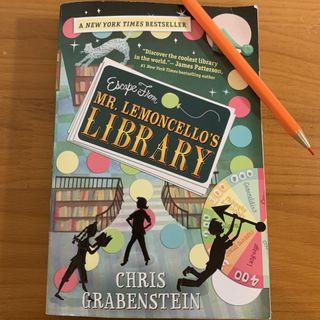 Episode 2 - Escape from Mr. Lemoncello's Library