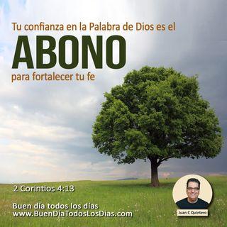 Abono para tu crecimiento espiritual