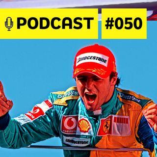 #050 - Massa revela 'causos' hilários com Schumi, Kimi, Leclerc e cia
