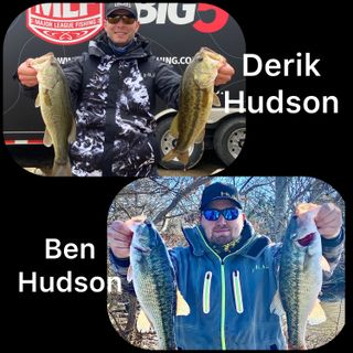 Two local anglers swing for the fences Ben & Derik Hudson in there first events of the 2021 season