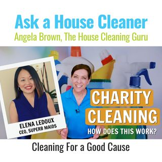 Charity and Complimentary Cleaning with Elena Ledoux