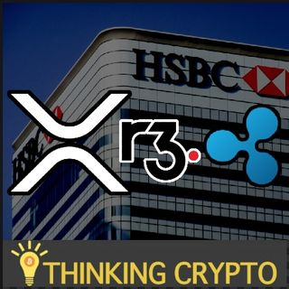 HSBC Tokenizing $10B On R3 Corda Blockchain XRP - New Data on Crypto Wealth in US