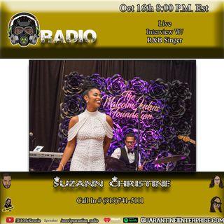 Quarantine Radio Interview with Suzann Christine