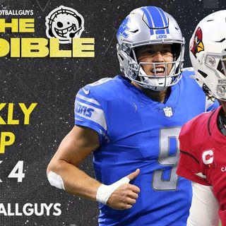 The Audible - Week 4 RECAP - Fantasy Football 2021