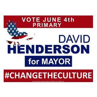 Meet David Henderson Mayoral Candidate For Hamilton Township, NJ