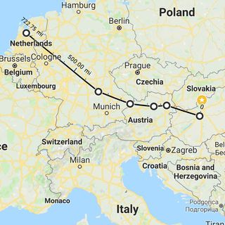 The Grand European Detour (A Preview)