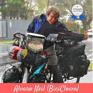 Vuelta al mundo en bici viviendo de sus libros. Entrevista Alvaro Neil (BiciClown). Episodio 93