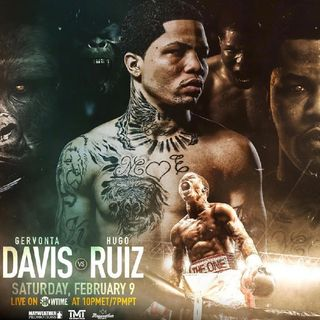 Review Of The Showtime Boxing Card Headlined By Gervonta Davis Fighting Hugo This For The WBA Super Featherweight Title+3other World Title's