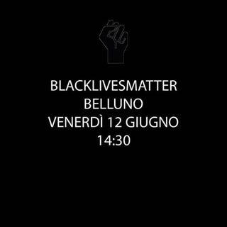 BlackLivesMatter, si manifesta anche a Belluno.