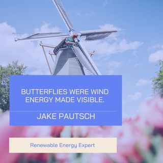 Jake Pautsch Shares The Importance Of Renewable Resource