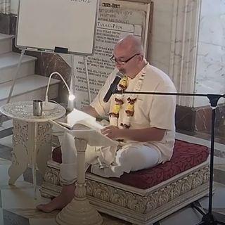 S.B. Canto 8 Cap. 21 versi 29 - 32 ~ Parabhakti Das (10 luglio 2019)