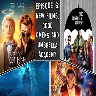 Episode 6 - New Films, Good Omens & Umbrella Academy