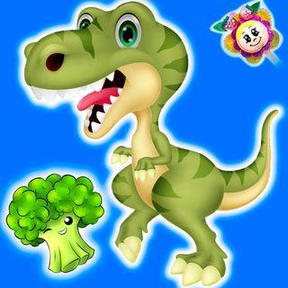 26. El dinosaurio brocolino. Cuento para promover la alimentacion saludable de los niños. Cuentos infantiles del Hada de Fresa