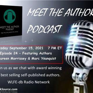 MEET THE AUTHOR Podcast - Episode 24 - MAUREEN MORRISSEY & MARC YOUNGQUIST