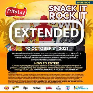 Frito Lay 'Snack It, Rock It & WIN' (Massy Distribution)
