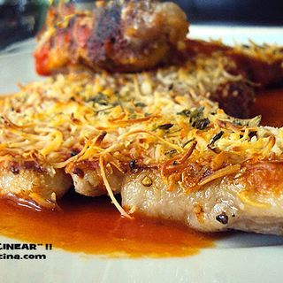 Chuleta De Cerdo Gratinada - Recetas Habladas