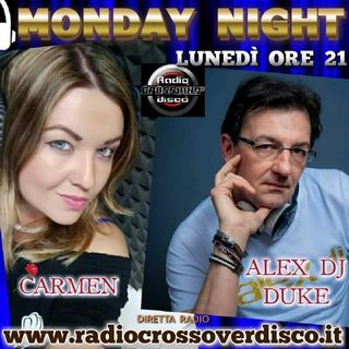 MONDAY NIGHT con Alexdj Duke e Carmen Dilemma